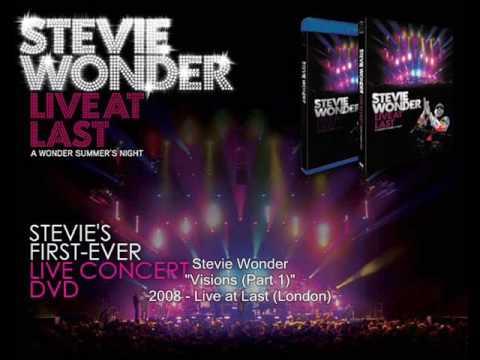 stevie wonder visions part 1 live at last youtube