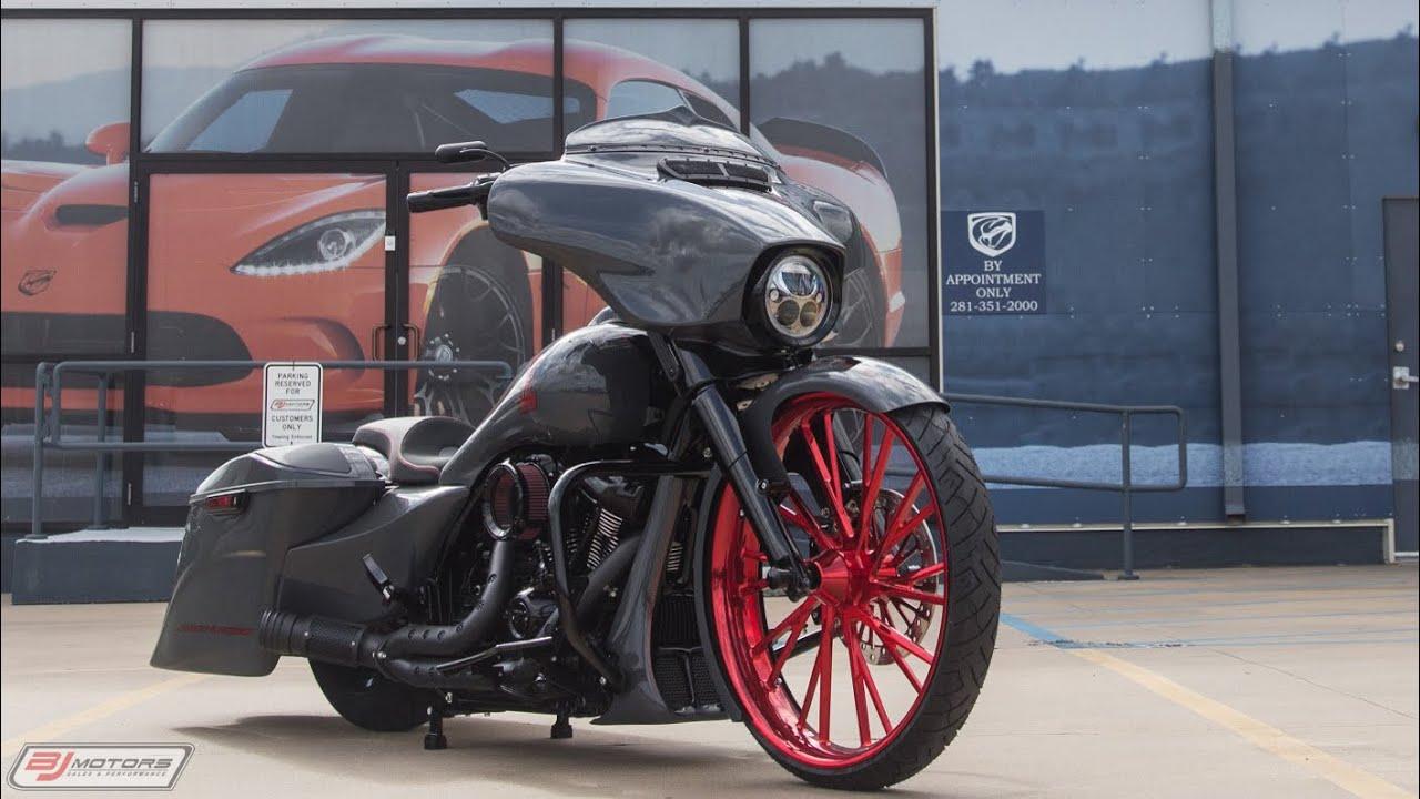 Used 2018 Harley-Davidson Street Glide Custom Bagger For