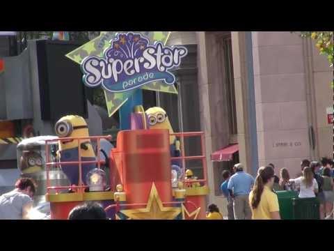 SuperStar Parade Despicable me Universal Studios Florida