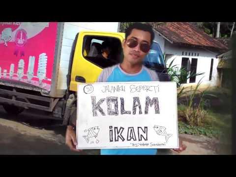 Jalanku Hancur Seperti Kolam Ikan.Sukadamai,Natar,Lampung Selatan (Official Music Video)