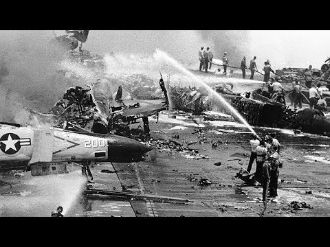 The Deadly Fire on the USS Forrestal and the Heroes Who Foug
