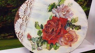 Daisy Bilá – Pintura Vintage em MDF