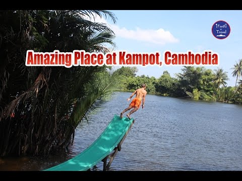 Arcadia Backpackers in Kampot, Cambodia - Asian Travel in Cambodia Video