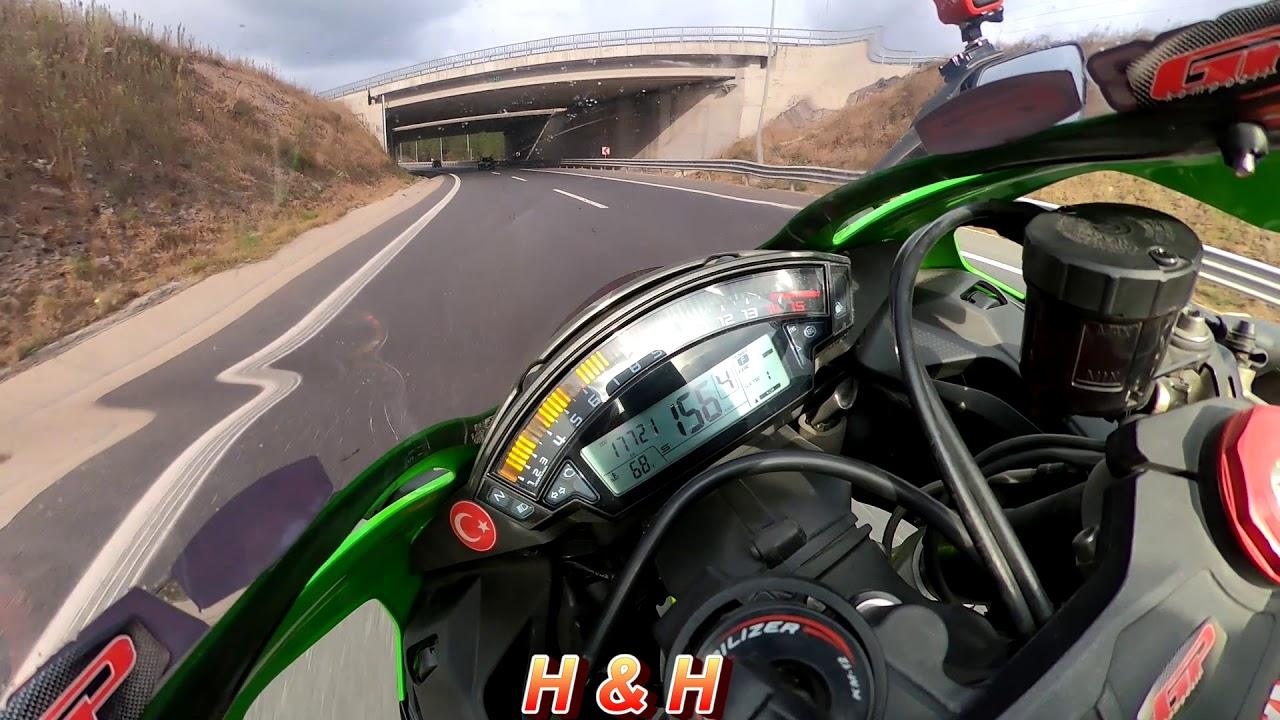 Kawasaki Ninja ZX10R Top Speed