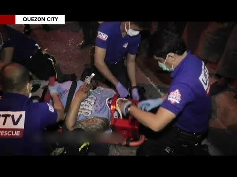 Magkahiwalay na motorcycle accident sa Quezon City, nirespondehan ng UNTV News and Rescue