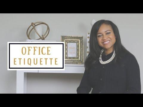 Office Etiquette   Business Etiquette