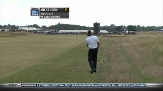 Phil Mickelson wins 2013 Open Championship Round 4 ESPN highlights