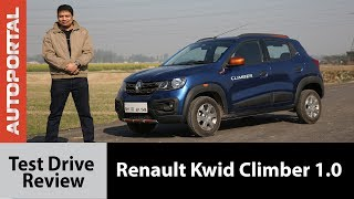 Renault Kwid Climber Test Drive Review - Autoportal