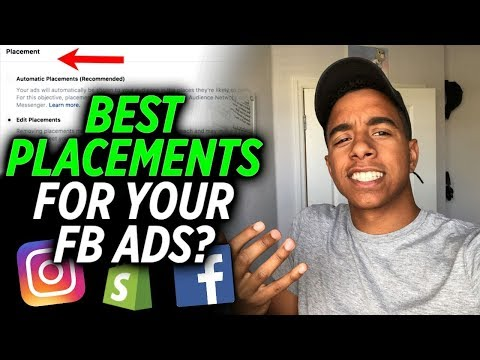 What's The Best Placement For Facebook Ads? (Shopify Dropshipping)