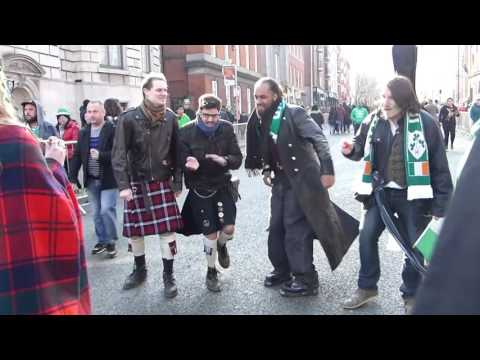 St. Patrick's Day 2016 Episode - Uptown Funk in Dublin City Center