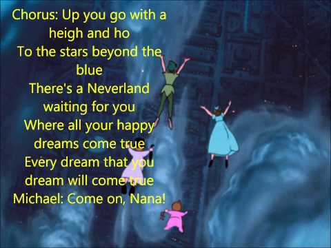 You Can Fly! (w/ lyrics) From Disney's