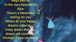 You Can Fly! (w/ lyrics) From Disney