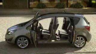 Opel Meriva Vauxhall Meriva Official Video 1