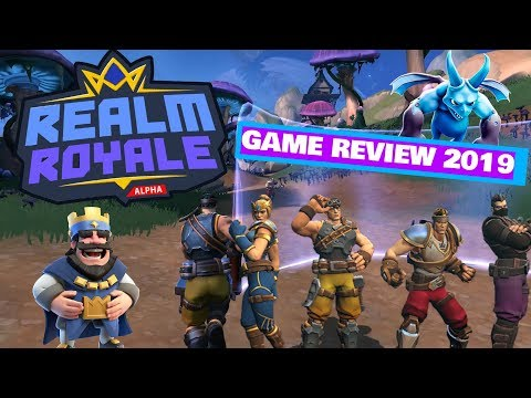 Realm Royale - Game Play Review 2019 - PS4