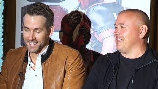 Deadpool Blu-Ray Panel - Ryan Reynolds