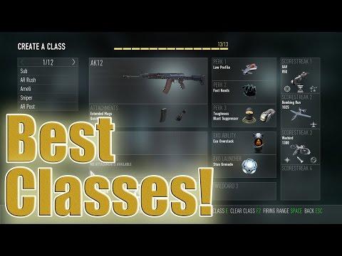 """COD: AW - """"BEST CLASS SETUP!"""" - Win More Gunfights!"""