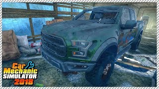 Junkyard Rescue! Abandoned Ford Raptor - Car Mechanic Simulator 2018 | Ep. 20