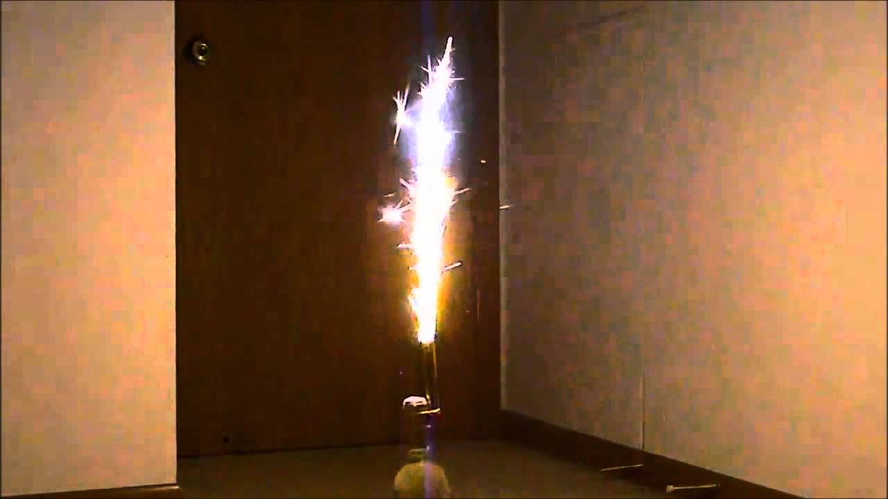 Using Champagne Bottle Sparklers Youtube