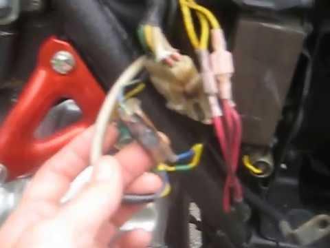 78 Honda gl1000 Cafe Racer Wiring Job - YouTube