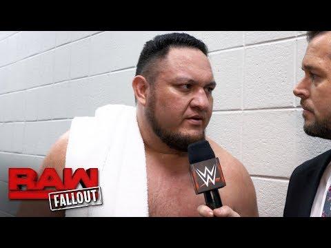 Samoa Joe on why Team Raw has the edge at Survivor Series: Raw Fallout, Nov. 13, 2017