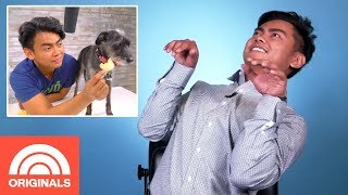 YouTuber Guava Juice Says His Dogs Are Naturals On Set | My Pet Tale | TODAY