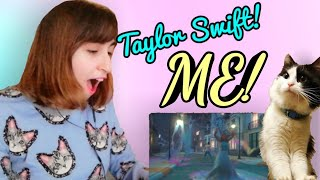 #taylorswift #Me KPOP FAN REVIEW TO ME! - Taylor Swift Ft Brendon Urie (My cat was not happy.)