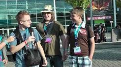 GC11: Wir vor der Kölnmesse