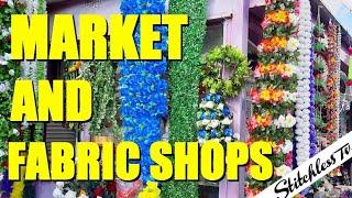 Shepherds Bush Market and Fabric Shops