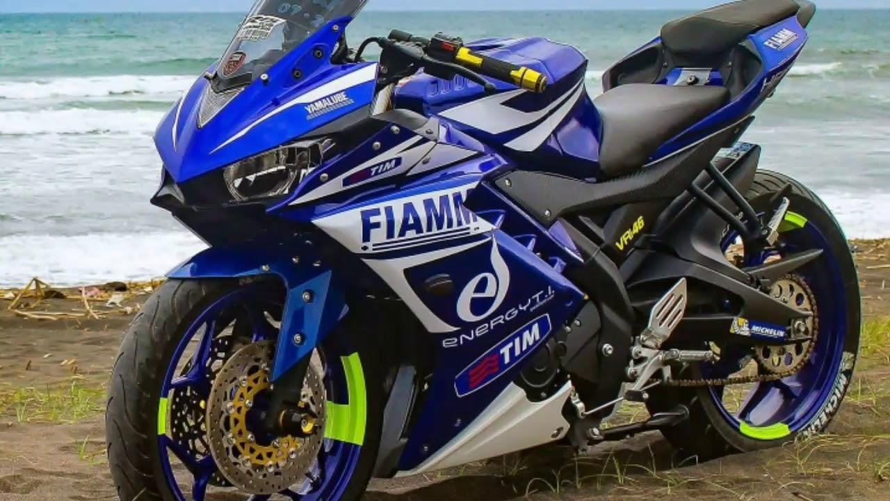 78 Gambar Modifikasi Yamaha R15 V3 Biru