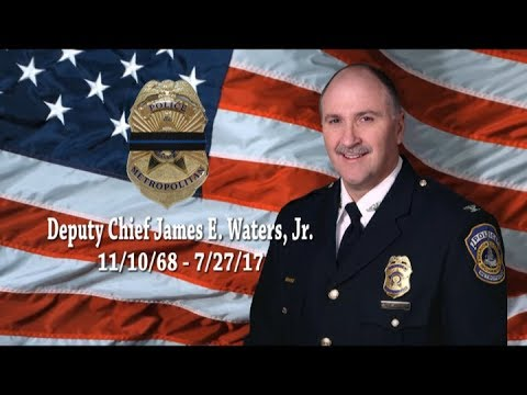 Indianapolis Remembers Deputy Chief James E. Waters. Jr.