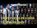 OPTION FILE ULTIMATE PES 2018 ATUALIZADO 2019 PS3[TEMPORADA 2019]