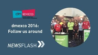 dmexco 2016: Follow us around! | Fairrank TV - Newsflash