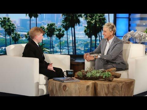 1da3f82bcbe Ellen Meets a Wonderful Kid Inventor - YouTube