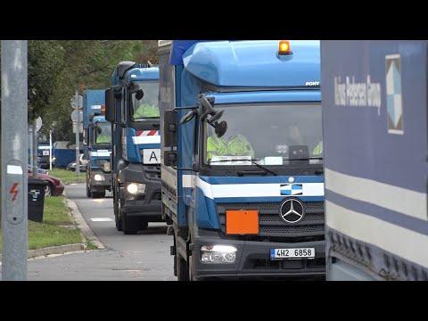 Podzimní mobilní svozy odpadu v Hradci Králové 2020