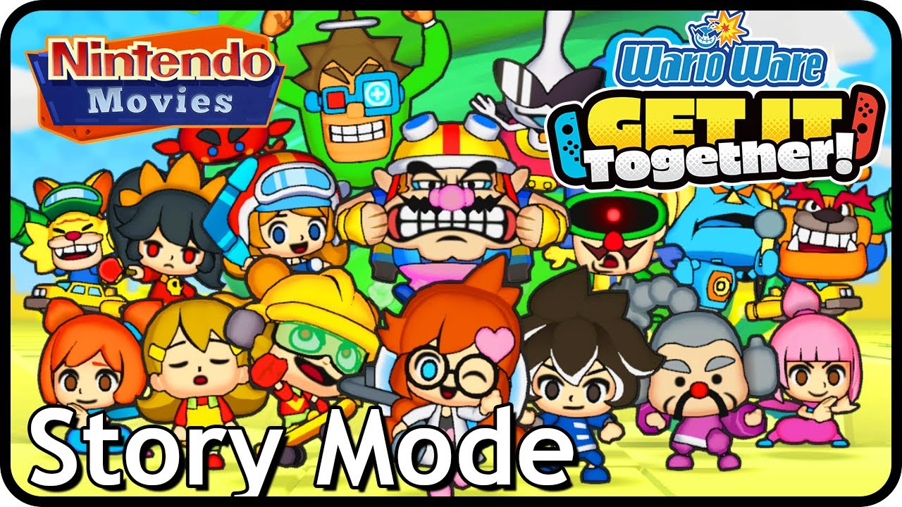Wario Ware: Get It Together - Story Mode (2 Players)