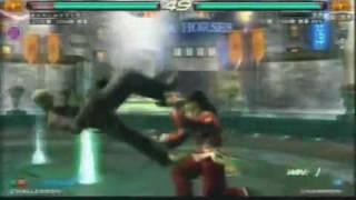 (raven) vs tetsuo (lei)