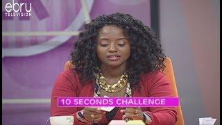 Game: Ten Seconds Challenge With Nancy Hebron (Tero)