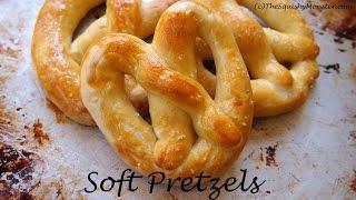 Buttery Soft Mall Pretzels Recipe
