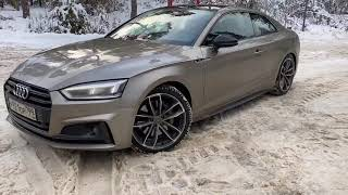 Я взял новую Audi S5. Avtomanlive.