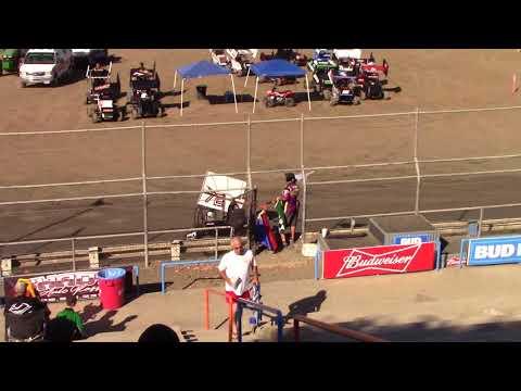 CA Speedweek, Plaza Park Raceway - Micro 600R Qualifying (Carson Borden) - June 29, 2018