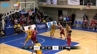 Gambar cover Sidney Sanders Jr highlights. 2014-2015 season.  LKL Lithuania