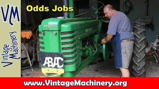 Odd Jobs:  A Mix of Many Small Jobs in the Shop