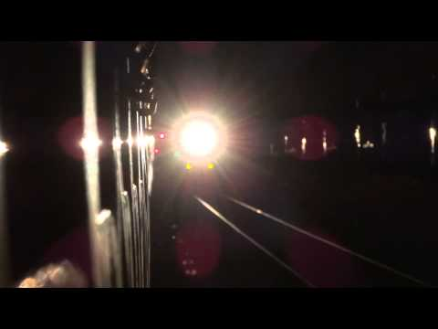 22149 ERS-PUNE SF Express Crossing 11003 DR-SWV Rajya Rani Express at Veer!!