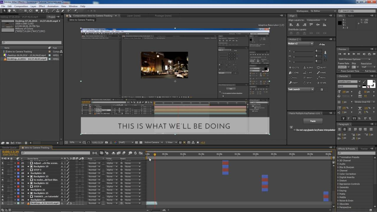 How to make templates in After Effects - YouTube