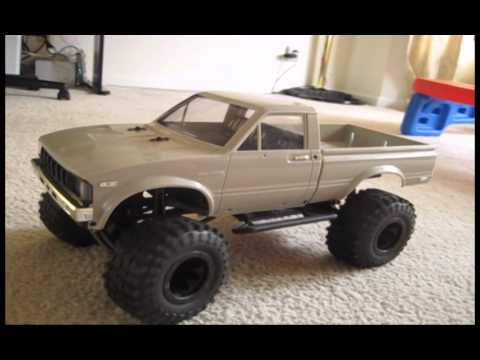 Axial Scx10 Mojave Hilux Toyota Build See Description For