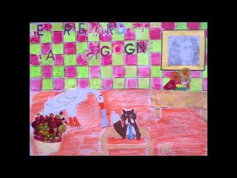 Le renard et la cigogne youtube - Dessin le renard et la cigogne ...