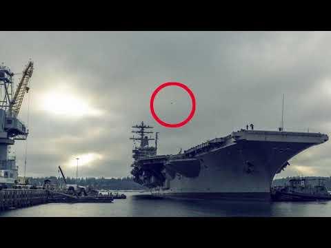 НЛО возле американского авианосца