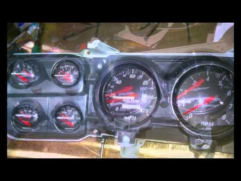 C-10 Autometer gauges. for 73-87 c10, blazer suburban