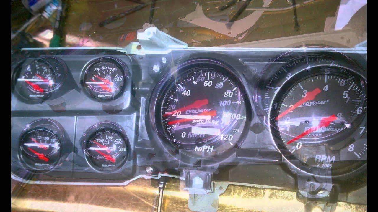 C 10 Autometer Gauges For 73 87 C10 Blazer Suburban Doovi