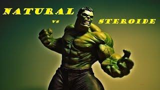 NATURAL vs STEROIDE | Anabolika Konsum GUT oder SCHLECHT ?